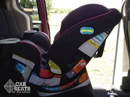 Car Upholstery Installation Graco 4ever All In One Review Car Seats For The Littles
