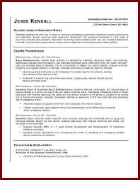 insurance sales resume sample 16 career objective examples for insurance company sendletters info