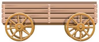 wooden cart png clip best web clipart