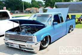 subaru mini truck lifted slamily reunion 2013 custom truck show mini truckin magazine