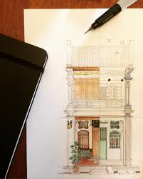 adaptive reuse penang georgetown adaptivereuse watercolour