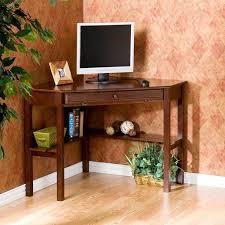 Small Espresso Desk Furniture Glamorous Espresso Wood Minimalist Small Corner Desk