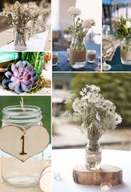 jar wedding decorations wedding reception centerpieces with jars cool decorations