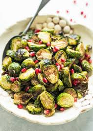 roasted brussels sprouts with pomegranate balsamic glaze recipe