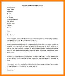 17 two weeks notice resignation letter pdf xavierax