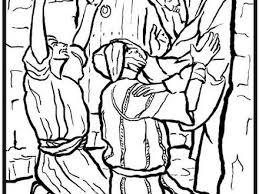 Was Bartimaeus Born Blind Jesus Heals Blind Bartimaeus Coloring Page Coloring Pages Jesus