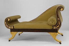 canapé récamier regency seating chaise recamier faux rosewood regency