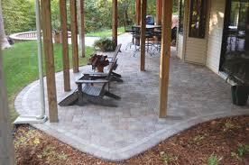 paver patio bbq area next to outdoor bbq area alongside patio