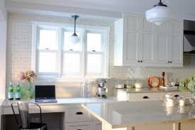 ceramic subway tile kitchen backsplash ideas astonishing white ceramic subway tile backsplash kitchen
