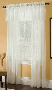 mystic crushed voile embroidered curtain panels are a wonderful