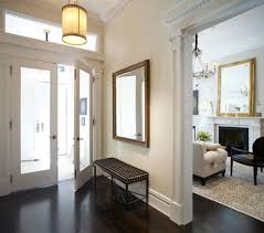 entrance mirror entry victorian with gloss wood console table