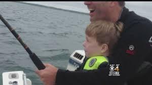 Cape Cod Kids Fishing - boy 6 hooks great white shark while fishing off cape cod youtube