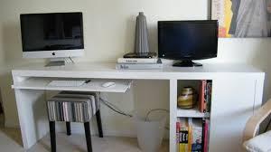 The Ikea Hacked Slim Storage Workspace Lifehacker Australia