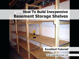 Basement Wooden Shelves Plans by Diy 2 4 Shelving Measurementsdiy Storage Shelves Basement Lowes