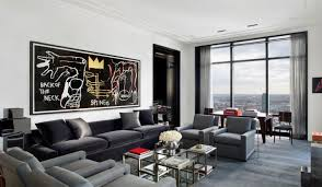 Grey Living Rooms by Hypnotizing Design Happywords Modern Style Living Room Designs