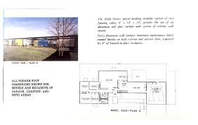 Curtain Wall House Plan Floor Plans U2013 Alside Homes 1962 U2013 The Frost House