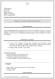 resume writing format for freshers resume sample for bcom graduates
