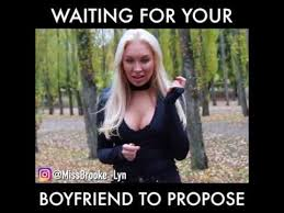 Meme Wedding Proposal - waiting for her boyfriend marriage proposal youtube