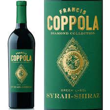 francis coppola diamond collection coppola diamond series green label syrah shiraz