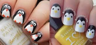 easy u0026 cute penguin nail art designs u0026 ideas 2013 2014 fabulous