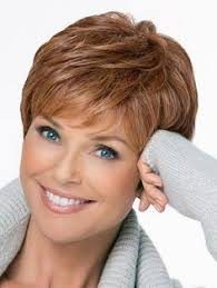 are side cut hairstyles still in fashion 2015 fashion fluffy curly silvery gray capless elegant short side bang