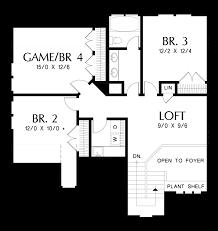 classic 6 floor plan mascord house plan 22211 the oakshire