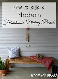 how to build a modern farmhouse bench pretty handy