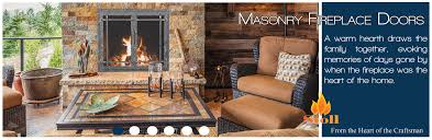 Air Tight Fireplace Doors by Stoll Fireplace Inc Custom Glass Fireplace Doors Heating