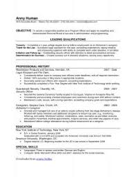 Narrative Resume Template Resume Template Best Photos Of Cover Letter Word 2010 Regarding