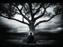 image result for painting of buddha the bodhi tree chakra