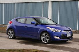 hyundai veloster turbo blacked out second hand hyundai veloster stands out with styling toronto star