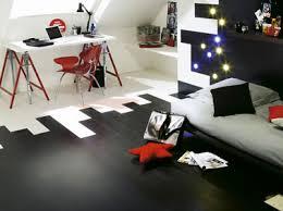 couleur bureau decoration bureau chambre ado couleur blanc noir