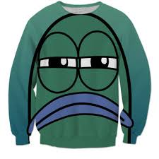 Sweater Meme - spongebob meme sweater from rageon