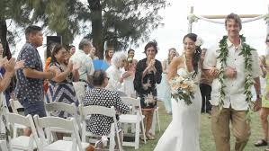 wedding videographers waialua hawaii wedding videographers