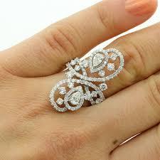 big rings design images 2 27 cts unique design big diamond cocktail ring set in 18k white jpg