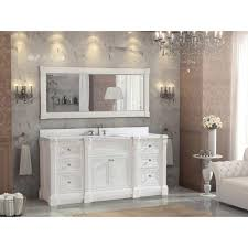 72 Inch Bathroom Vanities Inch White Finish Single Sink Bathroom Vanity Cabinet With Mirror