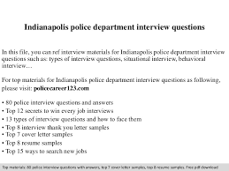 police detective resume indianapolispolicedepartmentinterviewquestions 140910164901 phpapp01 thumbnail 4 jpg cb u003d1410367781