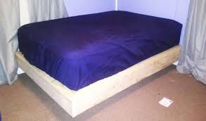 full size floating bed plans howtospecialist how to build