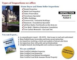 types of home inspections wisconsin a accurate home and building