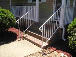 front porch metal handrail