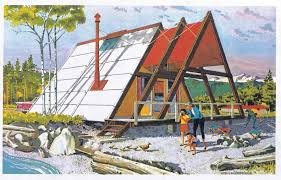 a frame style house bring back the real a frame the right shape at the right time
