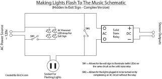 how to make christmas lights flash to the music