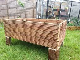 make a garden planter from decking 7 steps with pictures
