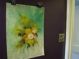 how to hang canvas art without frame hanging art without a frame but staying away from thumb tacks and