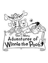free printable winnie pooh pictures kleurplaten winnie