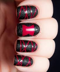 19 diy halloween nail art ideas