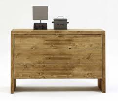 Wohnzimmer Kommode Kommode 120x80x45cm 3 Schubladen Nordisches Massivholz Rustikal