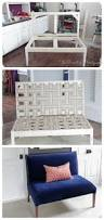 Diy Armchair Ana White Diy Upholstered Settee Diy Projects Best Made