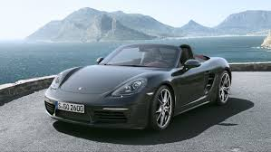 porsche boxster rear porsche 718 boxster and cayman prices specs and reviews the