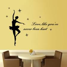 Home Decoration Wall Stickers by Compare Prices On Ballerina Wall Stickers Online Shopping Buy Low